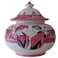 Fusari-Vase-Roso