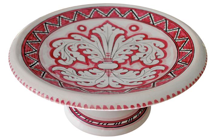 Rose Fruit Bowl