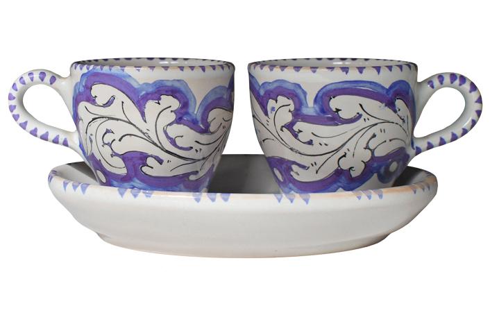 Violet Espresso Set