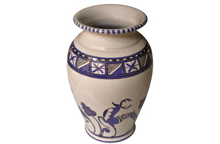 Violet Vase with Deer