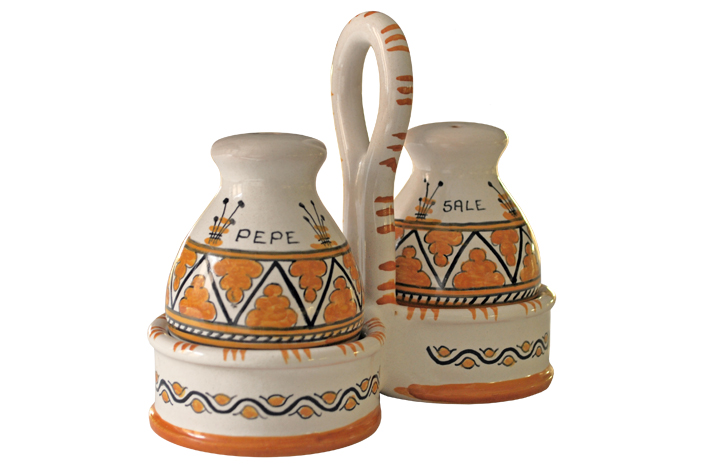 Orange Salt & Pepper Shakers
